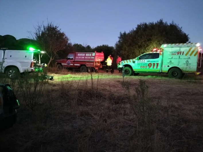 Woman injured on hiking trail