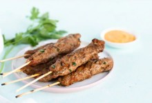 Beef mince kebabs