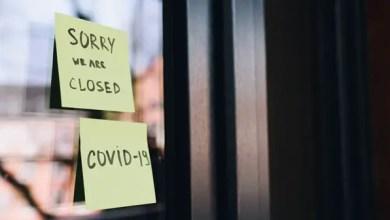 COVID-19 closed shop