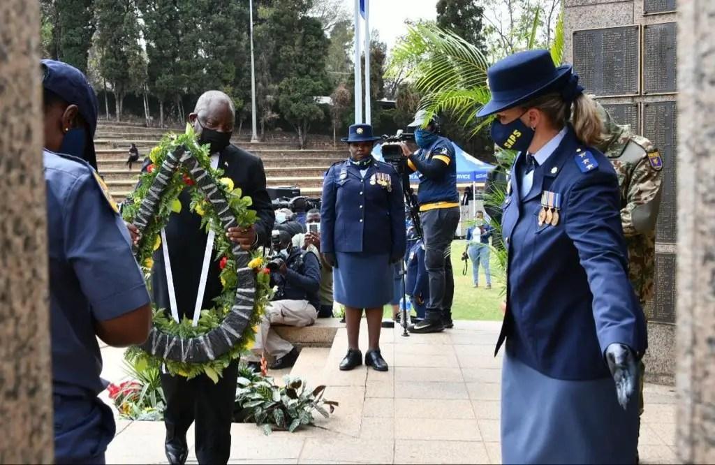 President Ramaphosa honours fallen police officers