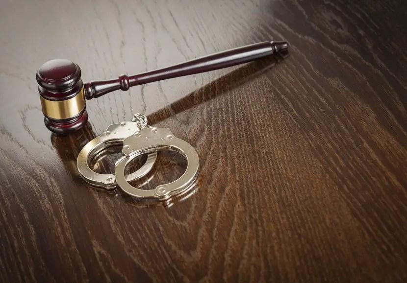 arrest court