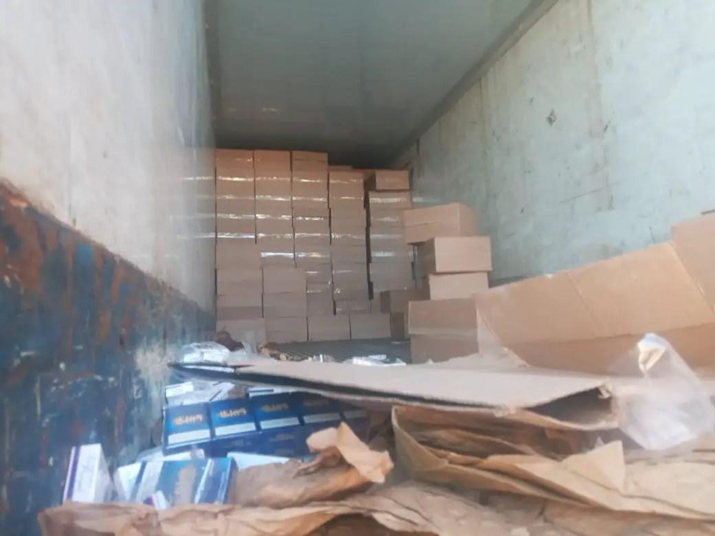 Cops seize counterfeit cigarettes worth R6.6 million in Vereeniging, 9 suspects arrested