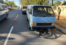 Cyclist killed, another injured after being struck down by speeding taxi