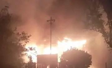 Enoch Mgijima municipality's art gallery on fire