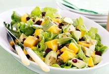 Lettuce avocado and mango salad recipe