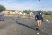 Soweto protestors block roads with rocks and burning tyres over service delivery