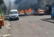 Taxis set on fire in Gqeberha - Violent fight between businessmen & taxi drivers gets nasty