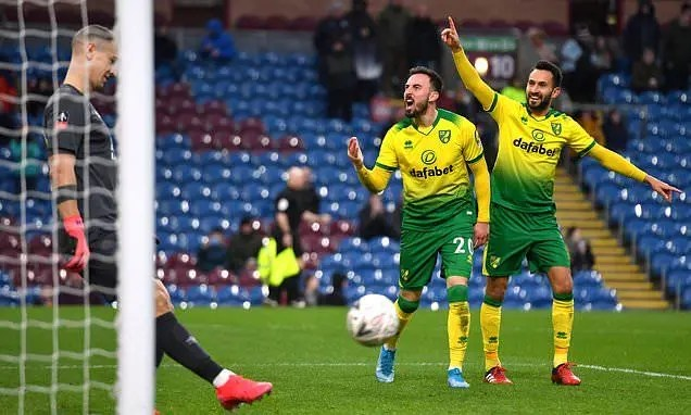 Burnley 1 - 2 Norwich