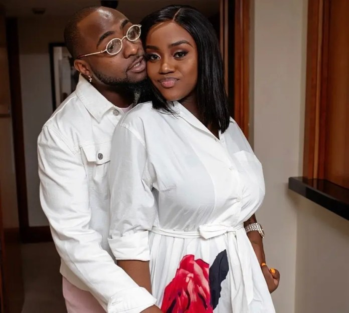 Davido & his wife Chioma seen partying together amid breakup rumours (Watch)
