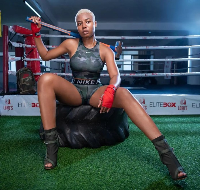 Nancy Isime B00BS getting bigger and better: Gym doing wonders to her