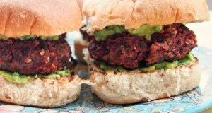 Spicy Mexican-style bean burger