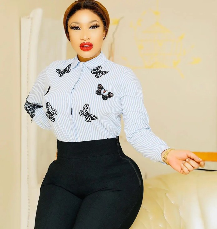 Dear Tonto Dikeh, real men don't cheat, don't cry over empty drums
