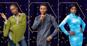 BBNaija 2020:Tolani Baj, Wathoni and BrightO's eviction from Biggie's house is the talk of the streets