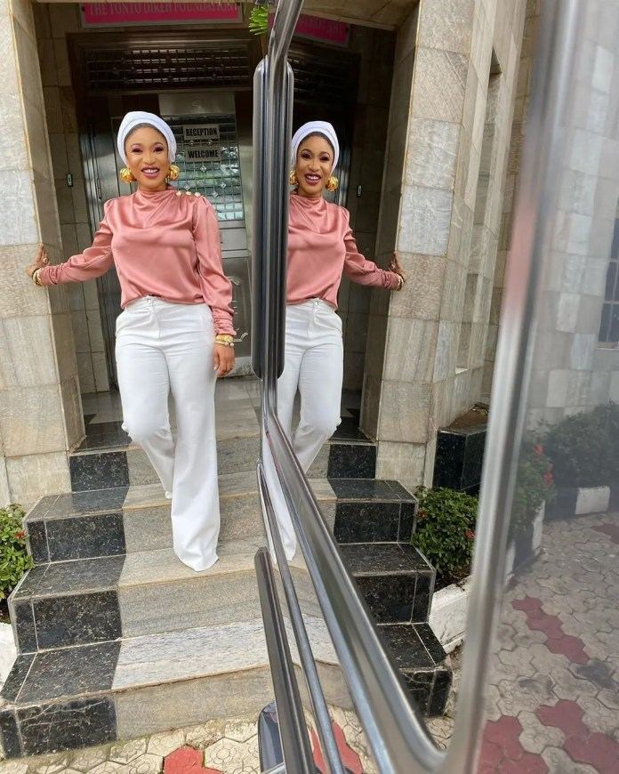 Fans console Tonto Dikeh: You're such a strong woman, God has vindicated you