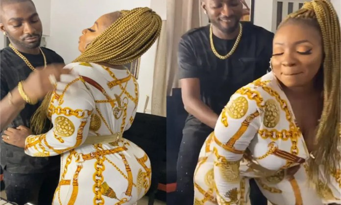 Anita Joseph to hubby MC Fish: My love for you is like Covid-19 palliatives, vandalize my heart and loot it