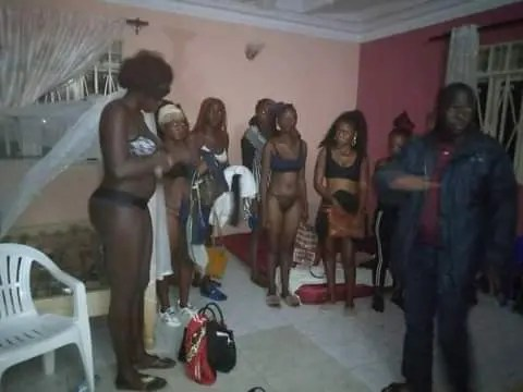 Uganda sex party