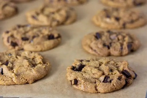 Vegan chocolate chip cookies - Recipe