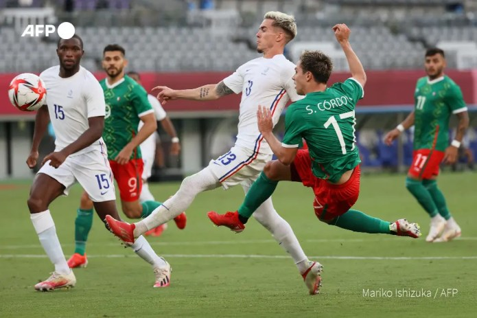 France thumped 4 – 1 by Mexico