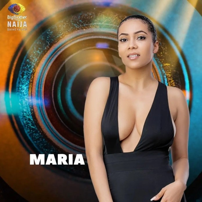 BBNaija: Maria evicted from Big Brother House