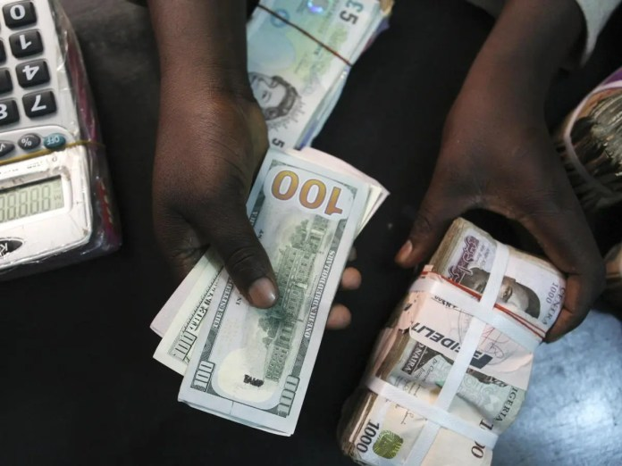 One dollar now going for 523 Naira at the black market