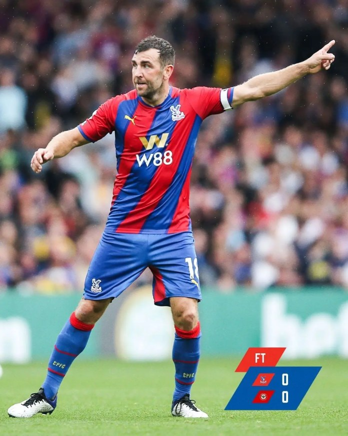 Brentford held Crystal Palace to a goalless draw
