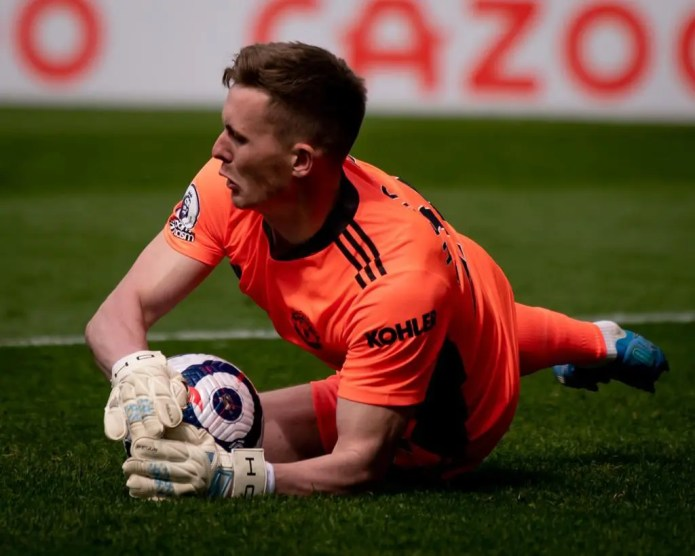 Man United keeper Dean Henderson out of training due to COVID-19