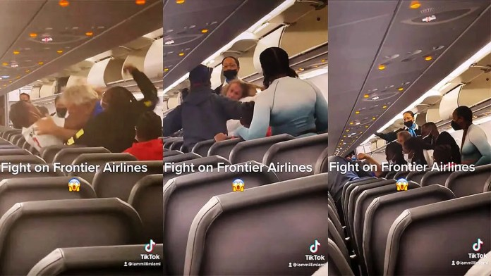Video: Passenger duct-taped to seat after groping flight attendants