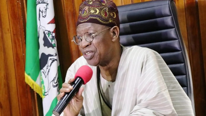 Lai Mohammed: Those criticizing Buhari for seeking medical treatment abroad are out to de-market him