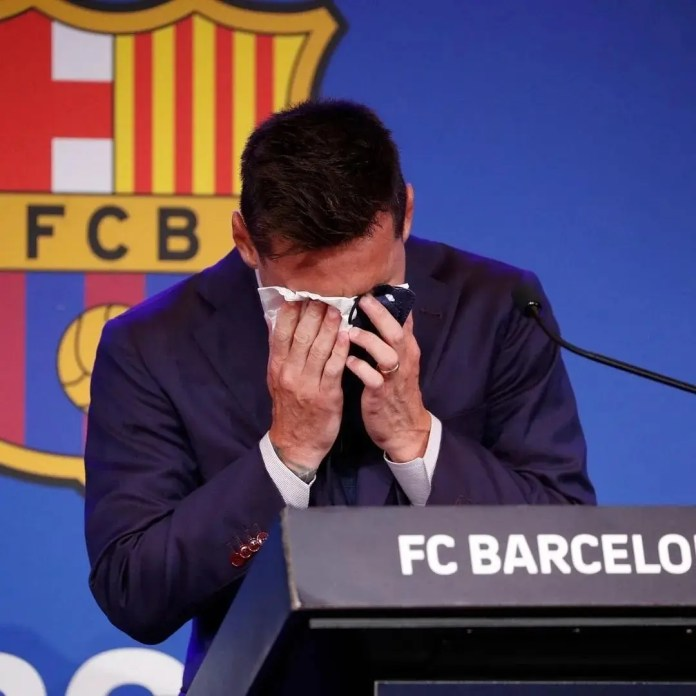 Lionel Messi's press conference concerning his departure from Barcelona: Watch
