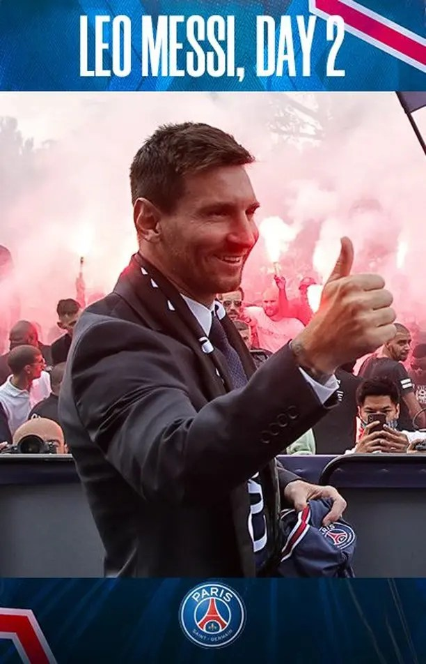 PSG gain 31 million IG followers after Messi signing