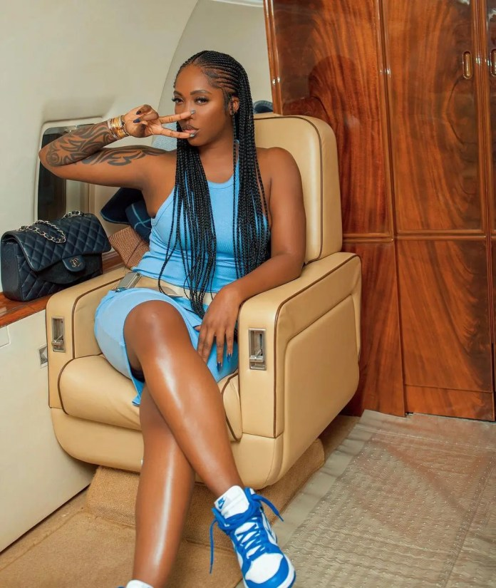 Fans go gaga over Tiwa Savage's beauty and ageless looks in recent photos
