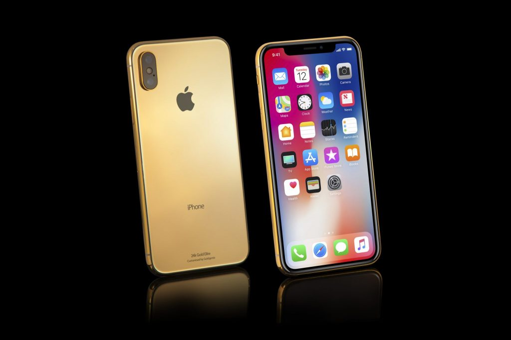 hight resolution of a new iphone x