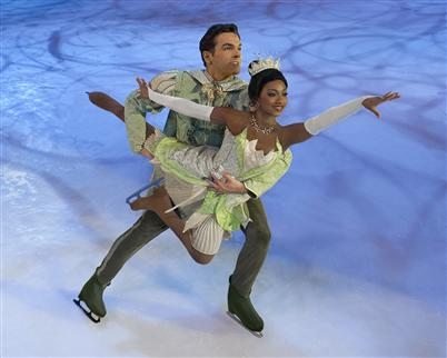 Disney on Ice Skater Tetona Jackson Shines as Princess Tiana