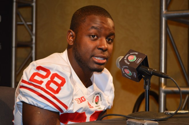 Wisconsin running back Montee Ball is hoping to lead the Badgers to a Rose Bowl win against Stanford. Photo Credit: Ronald Jenkins