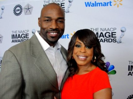 Niecy Nash and husband Jay Tucker at the NAACP Image Awards nominees luncheon. Photo Credit: Dennis J. Freeman