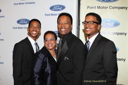 Actor William Allen Young received the Ford Freedom Unsung award for his community work. Photo Credit: Erlinda Olvera / News4usonline.com