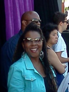 The lovely and talented Patrice Rushen at the Playboy Jazz Festival community concert at the Crenshaw Baldwin Hills Mall in Los Angeles . Photo Credit: Melvinna Bailey
