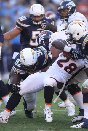 Gang tackle: Photo Credit: Kevin Reece/News4usonline.com