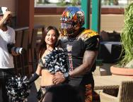 ....some more action from the LA Kiss media day. Photo: Jevone Moore/News4usonline.com