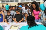 The 6th Annual Marcedes Lewis Football Camp in Long Beach, California on Saturday, June 14, drew an estimated 500 young people. Photo Credit: Dennis J. Freeman/News4usonline.com