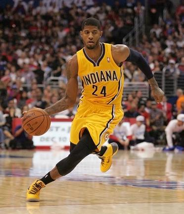 Not that guy: Paul George  is not ready to supplant Lebron James as NBA best player. Photo Credit: Jevone Moore/News4usonline.com