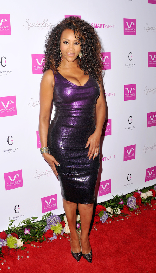 Vivica A. Fox at Vivica's 50th Birthday Party at Philippe Chow in Beverly Hills