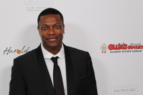 Actor/Comedian Chris Tucker. Photo Credit: Dennis J. Freeman/News4usonline.com