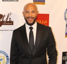 Actor Stephen Bishop (Mary Jane, Moneyball) attends the NAACP Theatre Awards in Beverly Hills, California. Photo Credit: Cory Cofield/News4usonline.com