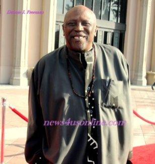 Actor Lou Gossett Jr. (Roots) at the 42nd NAACP Image Awards. Photo Credit: Dennis J. Freeman/News4usonline.com