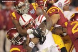 The Trojans defense made enough plays for USC to get the win at the National University Holiday Bowl. Photo Credit: Jevone Moore/News4usonline.com
