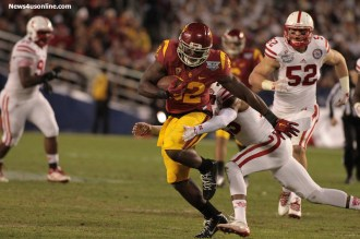 There were a lot of big plays during the National University Holiday Bowl. Photo Credit: Jevone Moore/News4usonline.com