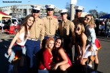 Marines with a group of pretty faces....