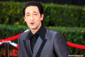 A late arriving Adrien Brody tries to catch his breath on the red carpet of the 21st SAG Awards. Photo by Dennis J. Freeman/News4usonline.com