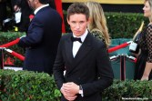 Eddie Redmayne (The Theory of Everything) looking dapper on the red carpet of the 21st SAG Awards. Photo by Dennis J. Freeman/News4usonline.com
